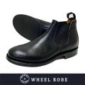 WHEEL ROBE ウィールローブ ELASTIC SIDE BOOTS CHROMEXCEL BLACK