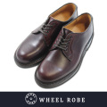 WHEEL ROBE ウィールローブ PLAIN TOE BURGUNDY