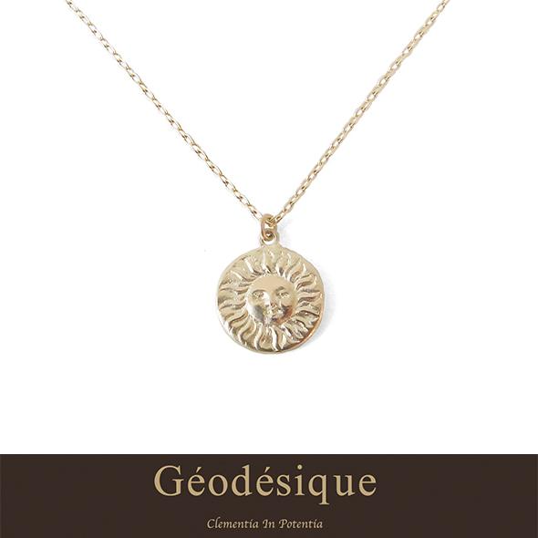 Geodesique ジィオデシック 太陽のコインネックレス