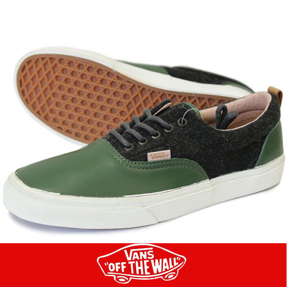 VANS バンズ Era CA Leather&Wool Bk Forst/Bk