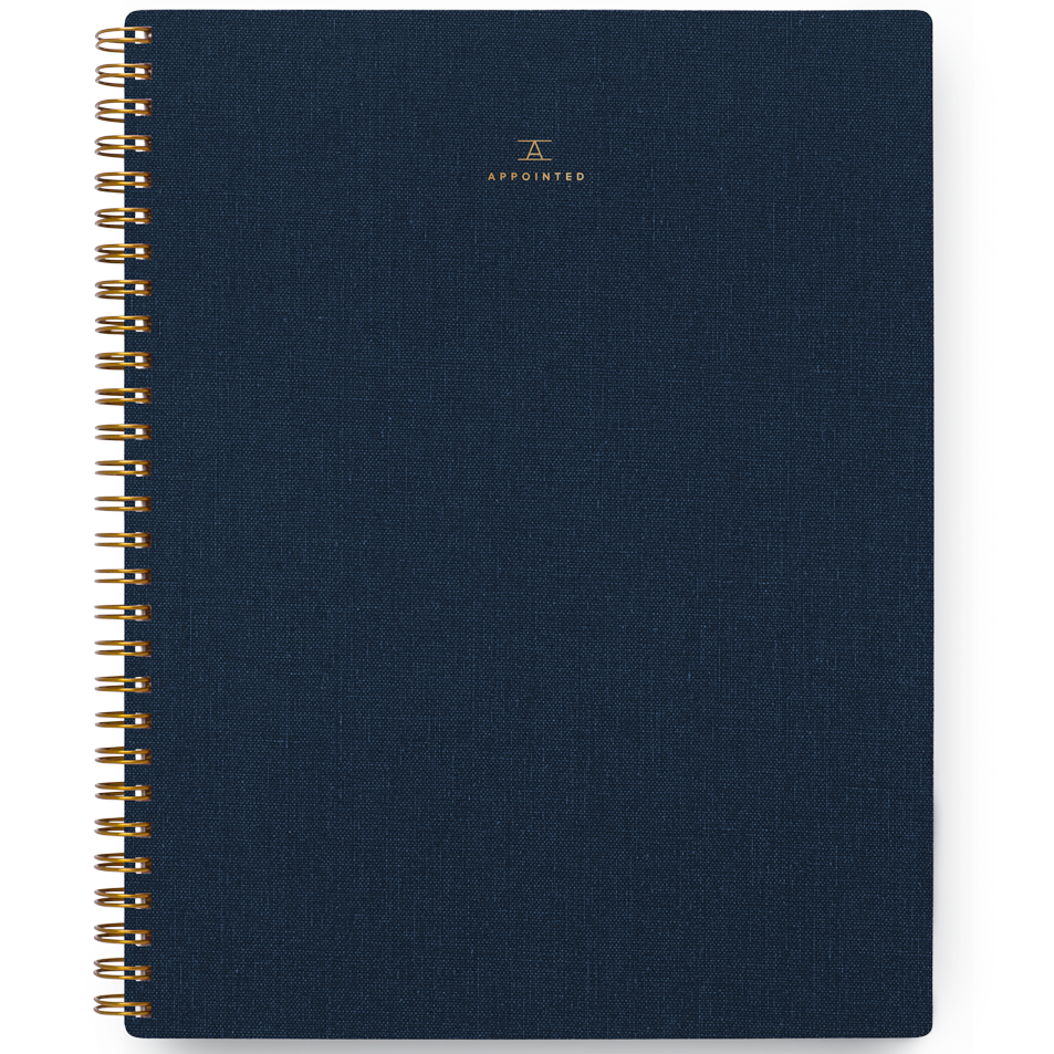 Appointed/ノートブック/Notebook/Oxford Blue:Grid