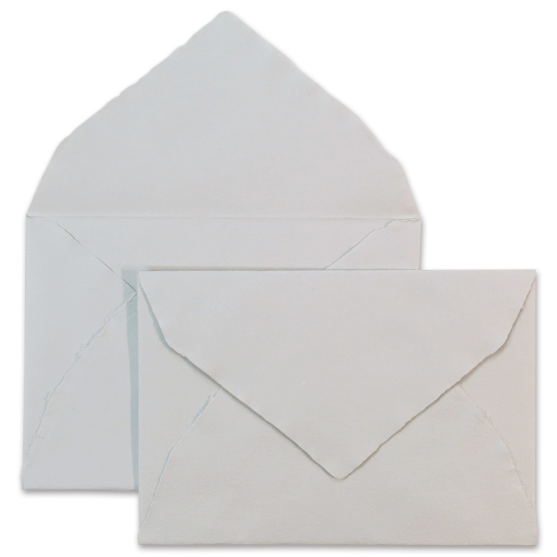 ARPA/ハンドメイドコットン封筒/Envelope: Grey