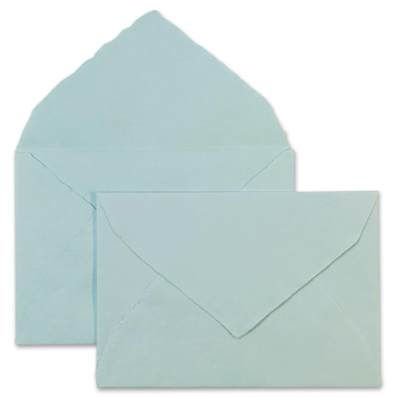 アルパ/ハンドメイドコットン封筒/ARPA Envelope: Blue