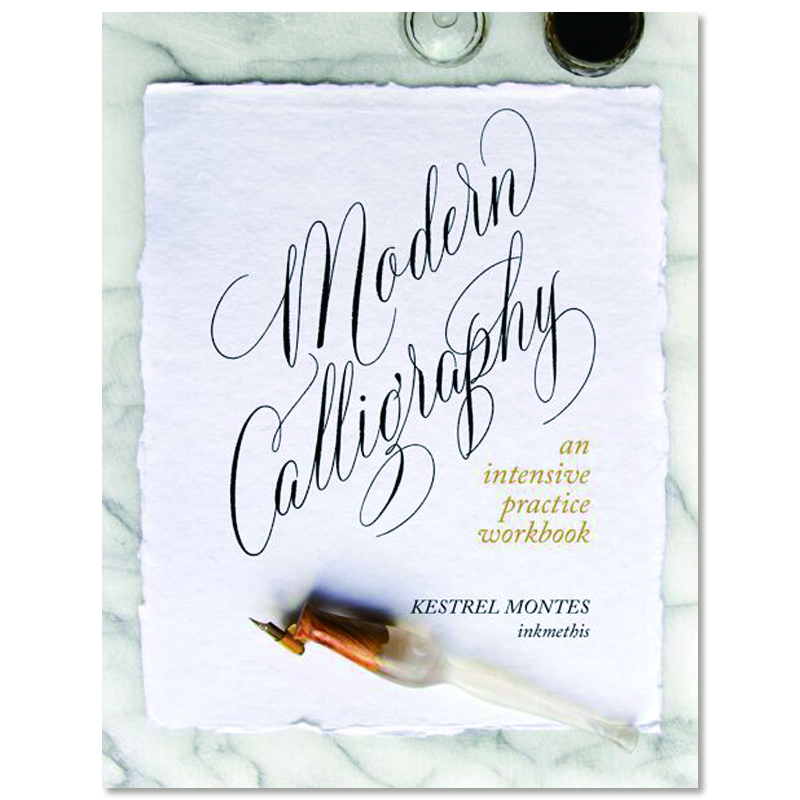 カリグラフィー/カリグラフィー練習帳/INKMETHIS Modern Calligraphy