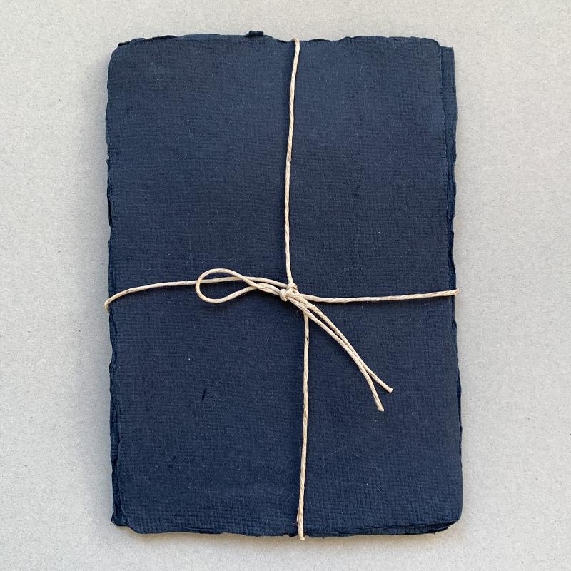 Indian Handmade Cotton Paper/カード5枚セット Mサイズ