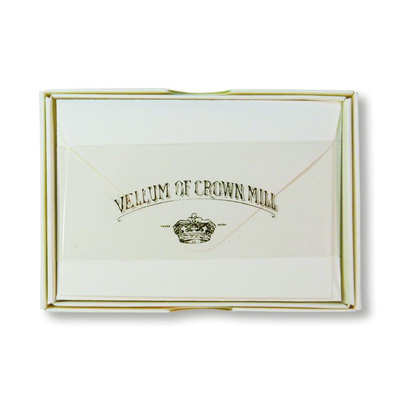 オリジナル・クラウン・ミル/ボックスカード20枚セット/CREAM