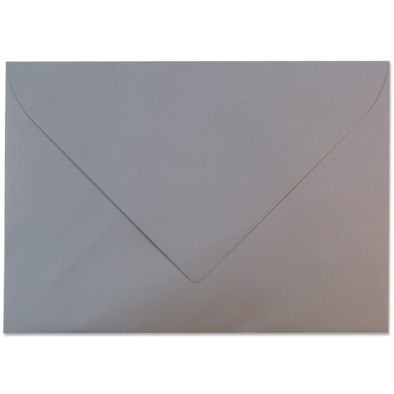 オリジナル・クラウン・ミル/A4封筒/ORIGINAL CROWN MILL: Grey