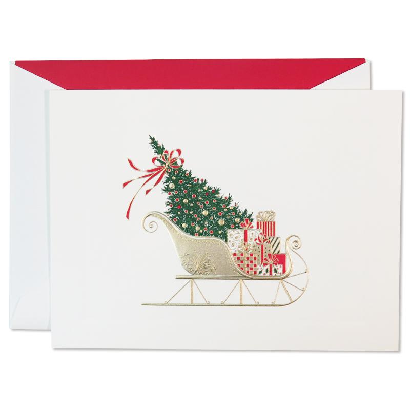 クレイン/ボックスカード10枚セット/Santa's Sleigh/Scarlet