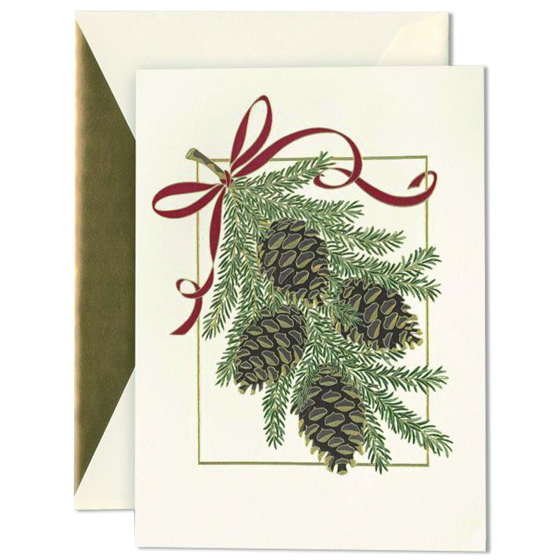 クレイン/ボックスカード/Holiday Pinecone