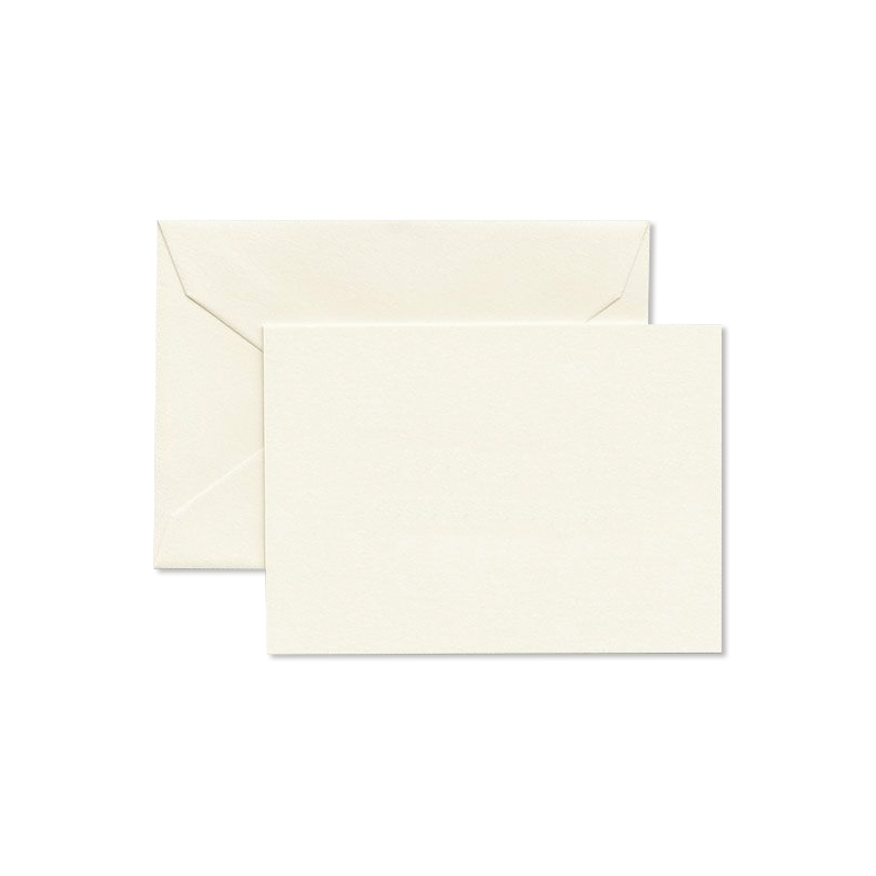 クレイン/ボックスカード/Ecru Enclosure Card & Envelope