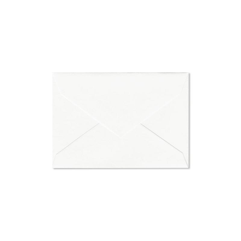 クレイン/ボックスカード/Pearl White Enclosure Envelope 100 envelopes