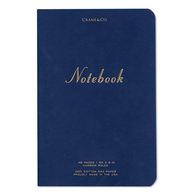 Crane/ノート/Medium Notebook Navy
