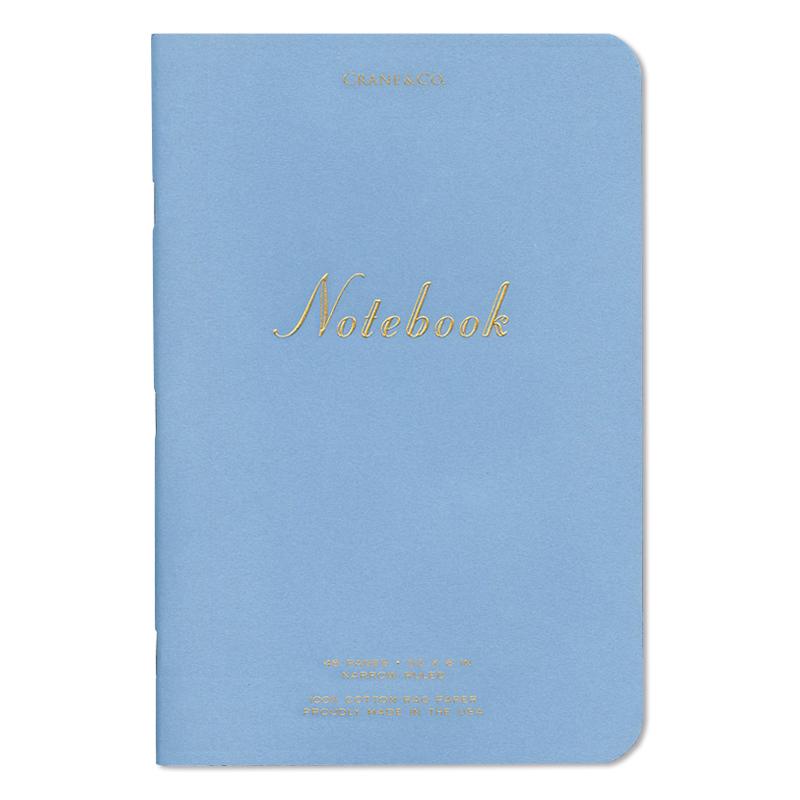 Crane/ノート/Medium Notebook Dalton Blue