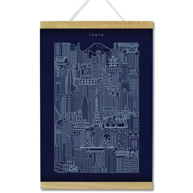シティワークス/アートワーク/Tokyo Blueprint
