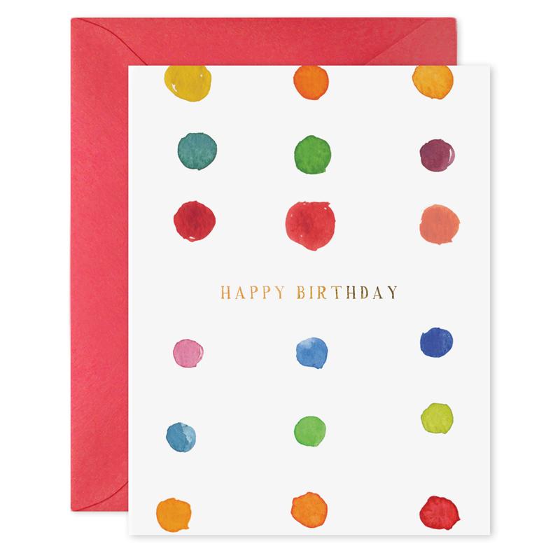 イー・フランシス/シングルカード/Birthday Dots