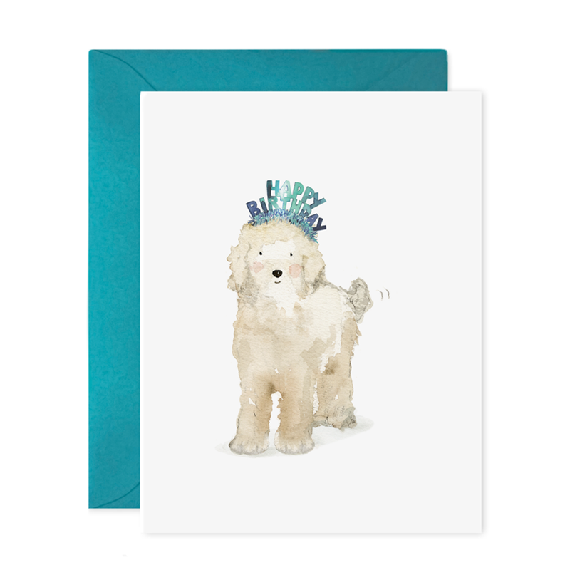 E.Frances/シングルカード/Lucy Dog Birthday