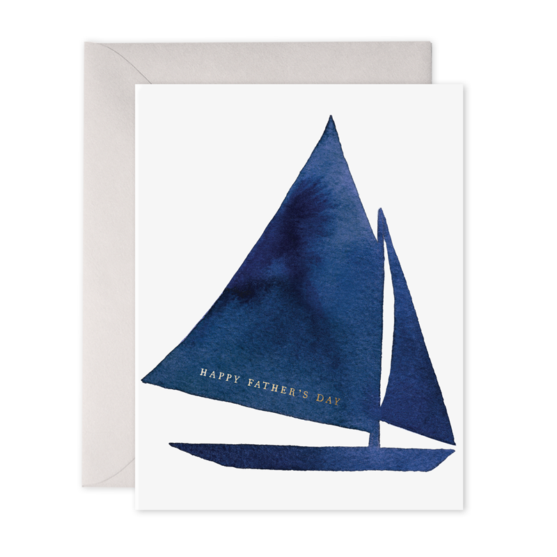 E.Frances/シングルカード/Father's Day Sailboat