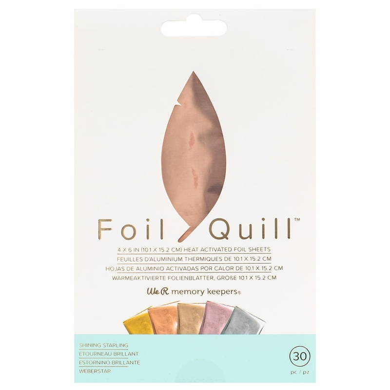 Foil Quill/ホイルシート/Foil Sheets -Shining Starling 30枚入り