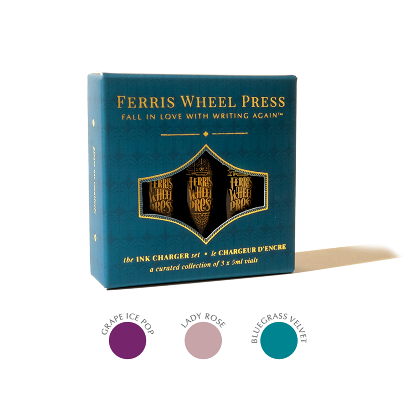 Ferris Wheel Press/インクセット/Ink Charger Set - The Lady Rose Trio