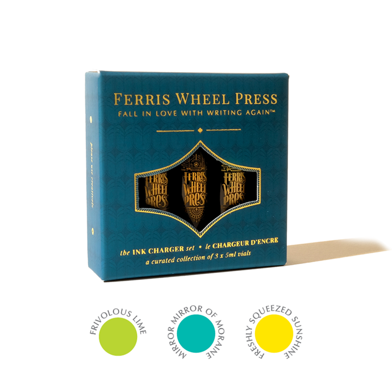 Ferris Wheel Press/インクセット/Ink Charger Set - Freshly Squeezed Collection