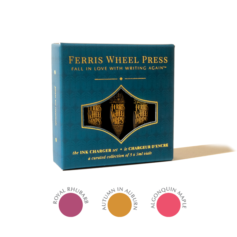 Ferris Wheel Press/インクセット/Ink Charger Set - Autumn in Ontario Collection