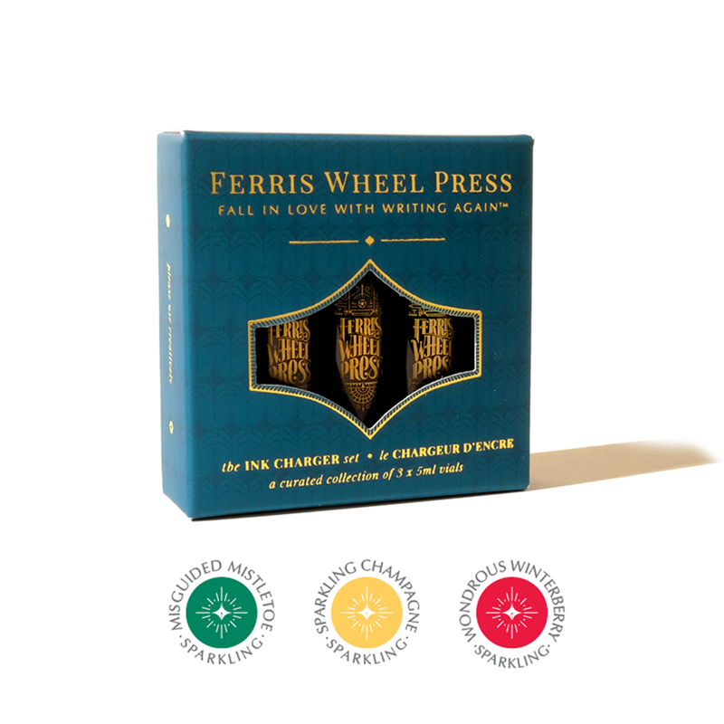Ferris Wheel Press/インクセット/Ink Charger Set - Home & Holly Collection
