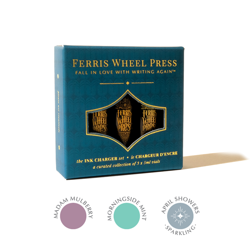 Ferris Wheel Press/インクセット/Ink Charger Set - The Morningside Collection
