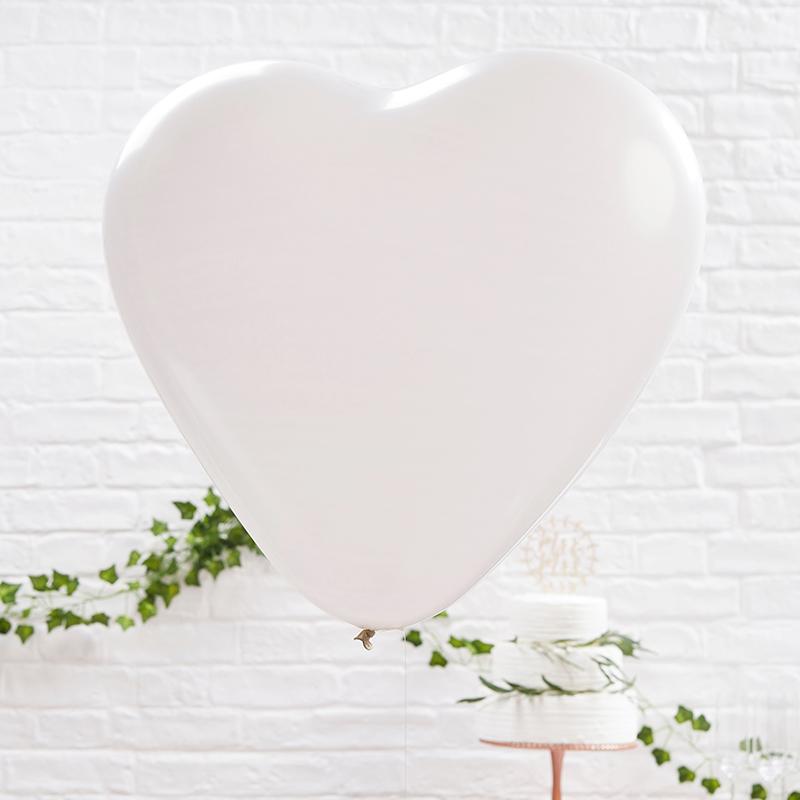 ジンジャーレイ/バルーン/Huge Heart White