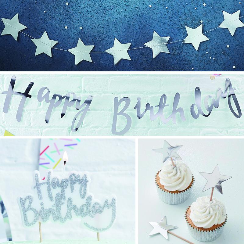 【数量限定】Birthday Party Set - Silver
