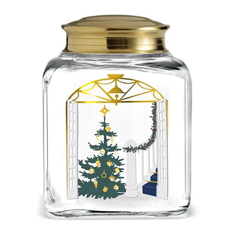 HOLMEGAARD/ガラスジャー/CHRISTMAS BISCUIT JAR 2020