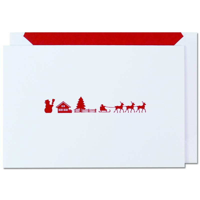 ヤン・ピーター/シングルカード/Santa's sleigh