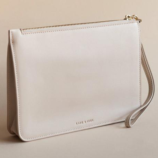 Lark & Ives/クラッチ/STRUCTURED CLUTCH LATTE