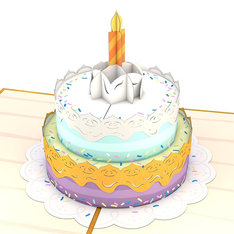 Lovepop/シングルカード/Happy Birthday Cake