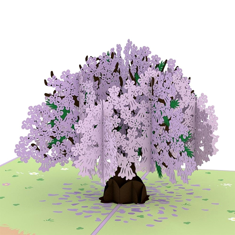 Lovepop/シングルカード/Jacaranda Tree