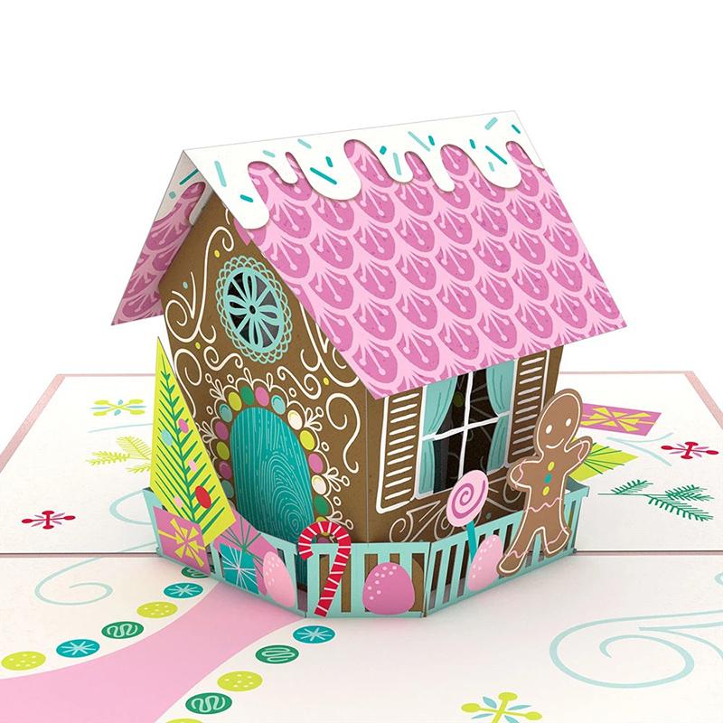 Lovepop/シングルカード/Gingerbread House