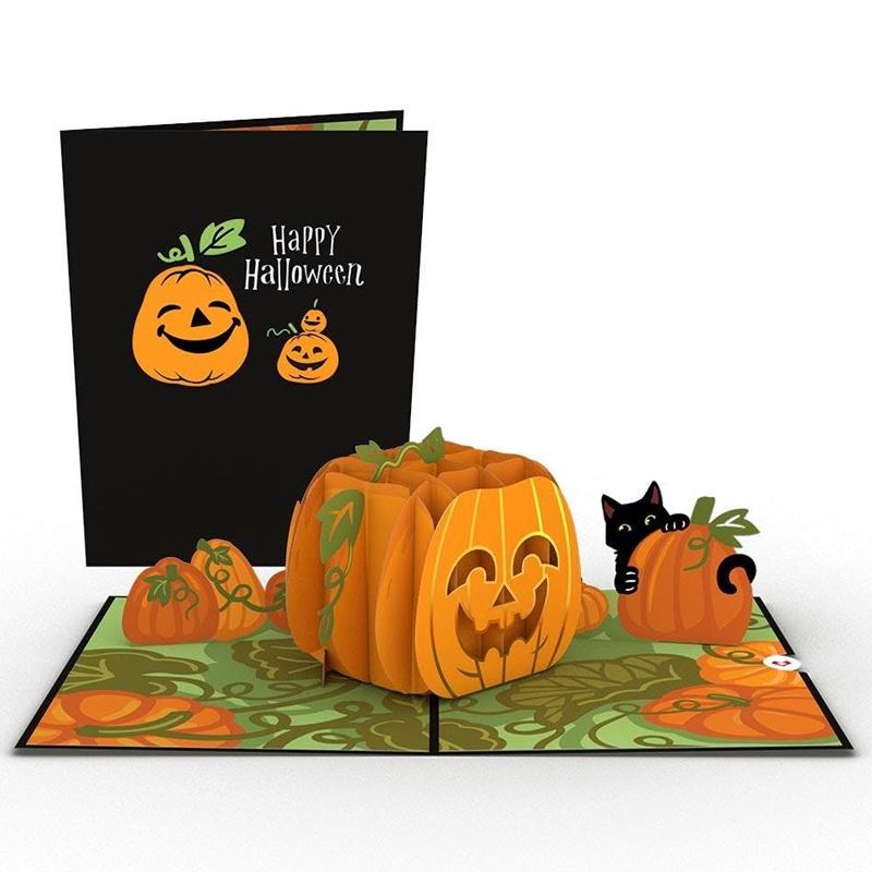 Lovepop/シングルカード/Happy Halloween Pumpkin