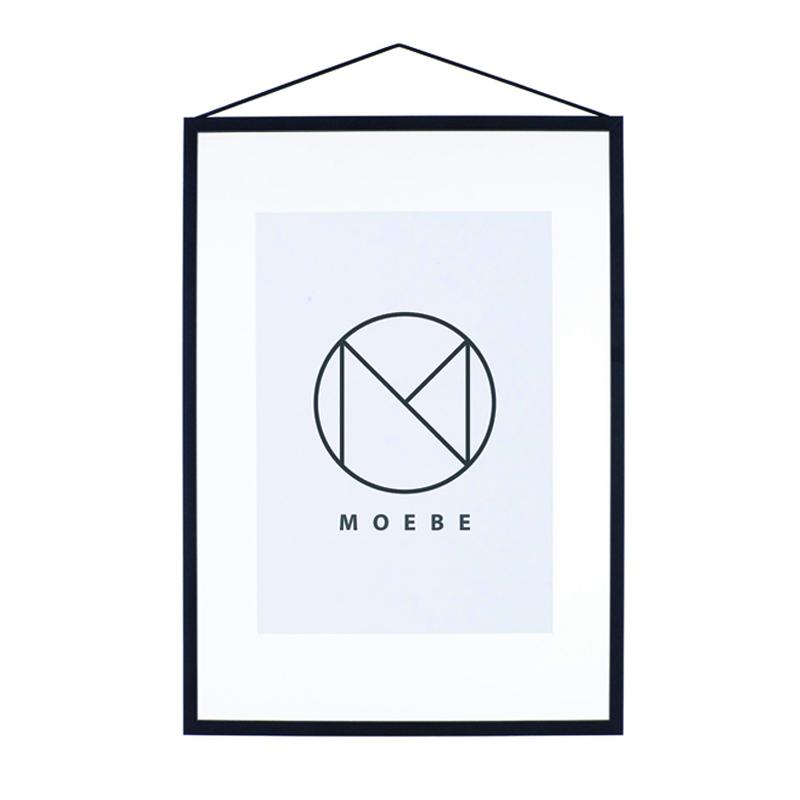 Moebe/アートフレーム/A3 Black