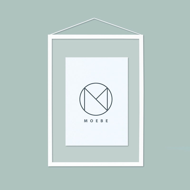 Moebe/アートフレーム/A4 White