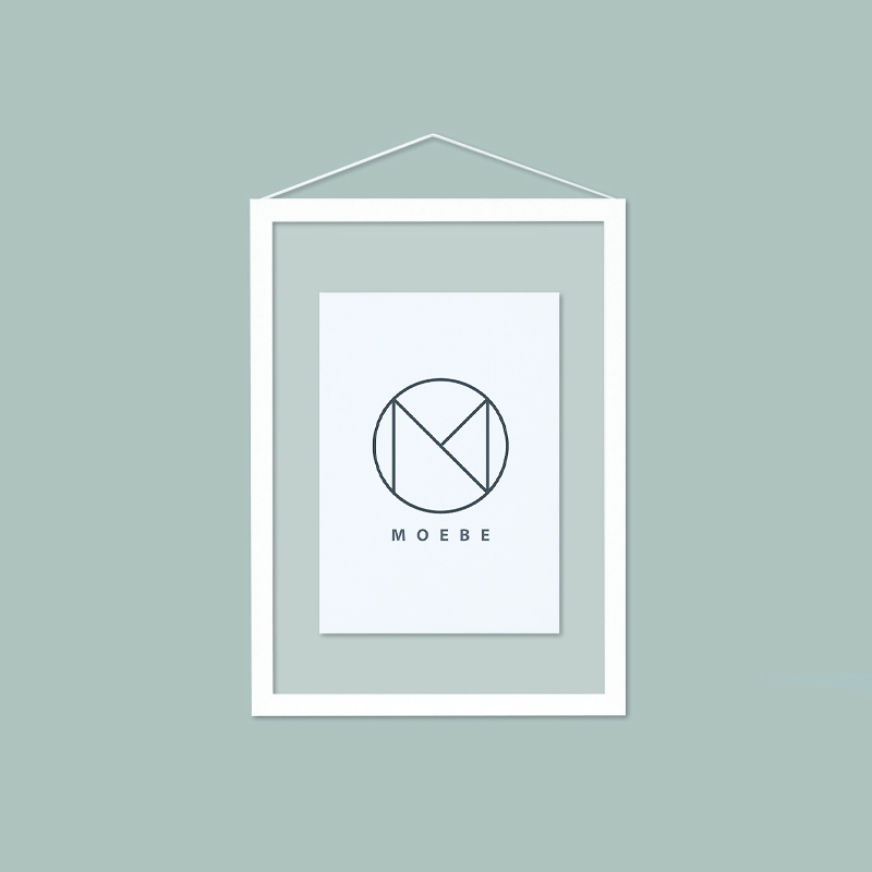 Moebe/アートフレーム/A5 White