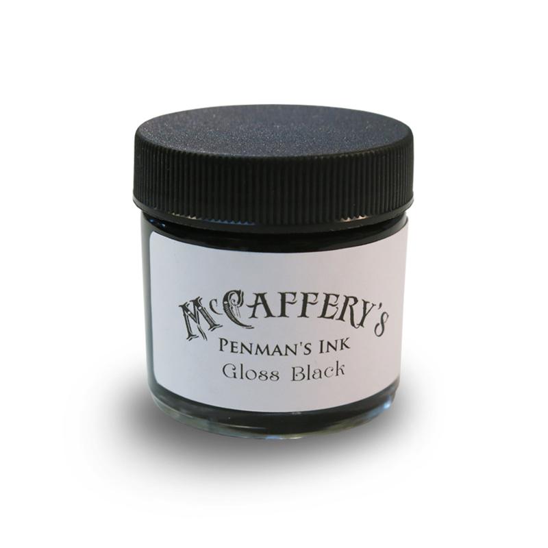 マックカファリー/インク/McCaffery's Penman's Ink: Gloss Black
