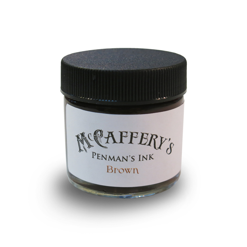 McCaffery/カリグラフィーインク/Penman's Ink: Brown