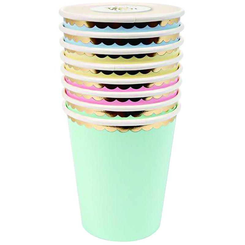 メリメリ/ペーパーカップ/Pastel Cups