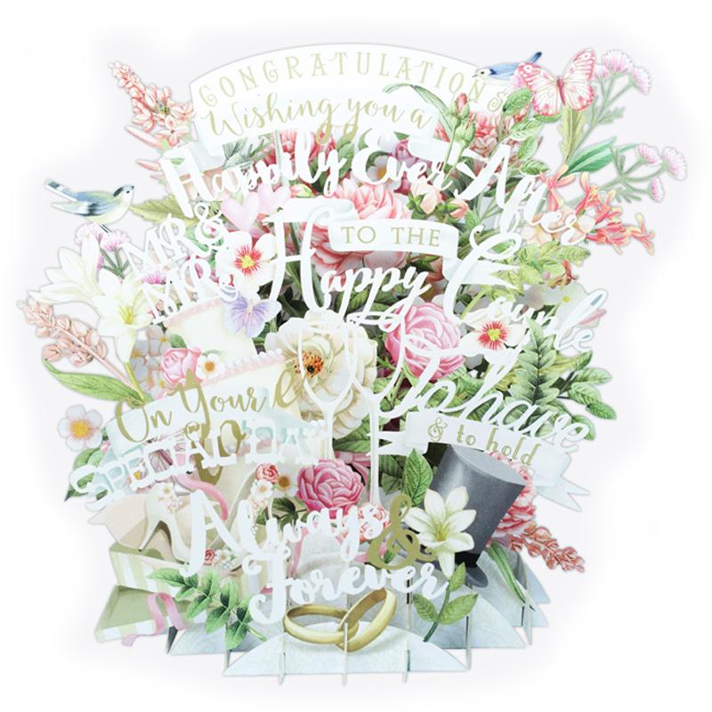 ミーアンドマックキュー/シングルカード/Wedding Congratulations