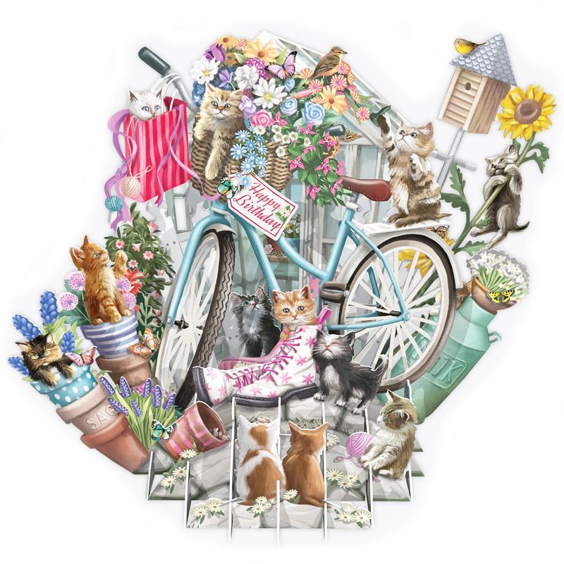 ミーアンドマックキュー/シングルカード/Kittens in the Garden