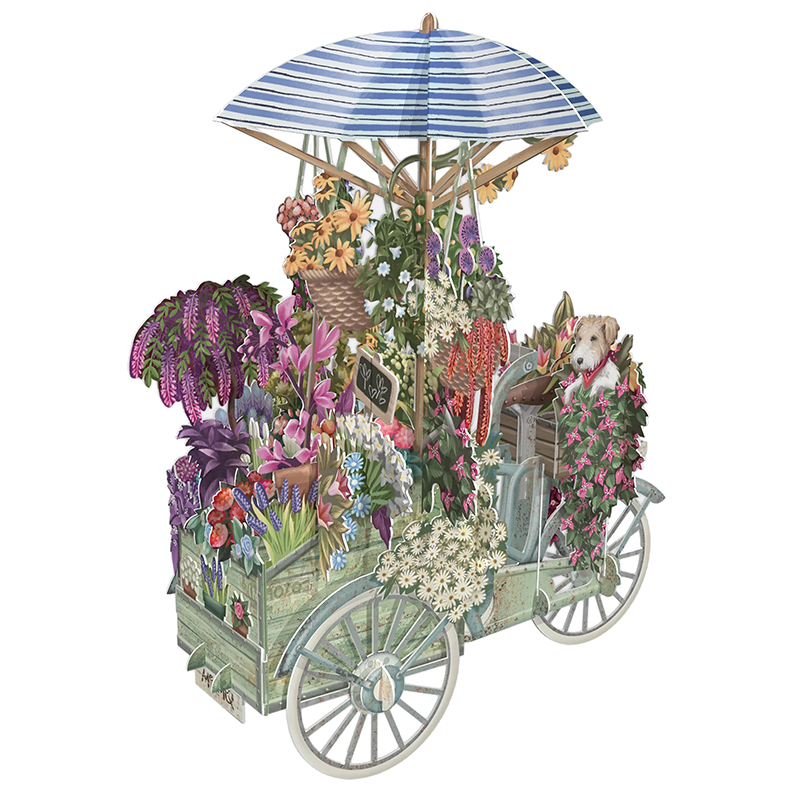 Me & McQ/シングルカード/Flower Sheller's Bicycle
