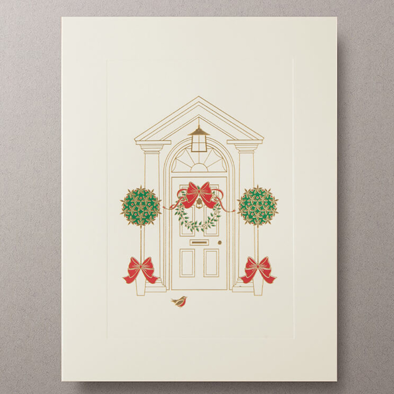 Mount Street Printers/ボックスカード/Robin at the Door