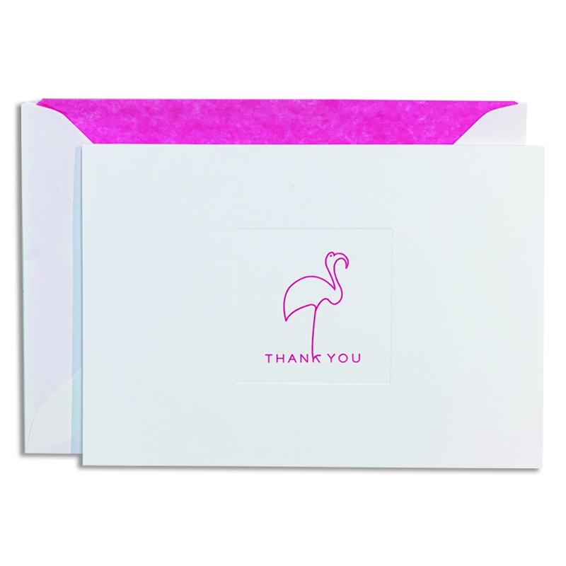 Mount Street Printers/ボックスカード/Flamingo Pink