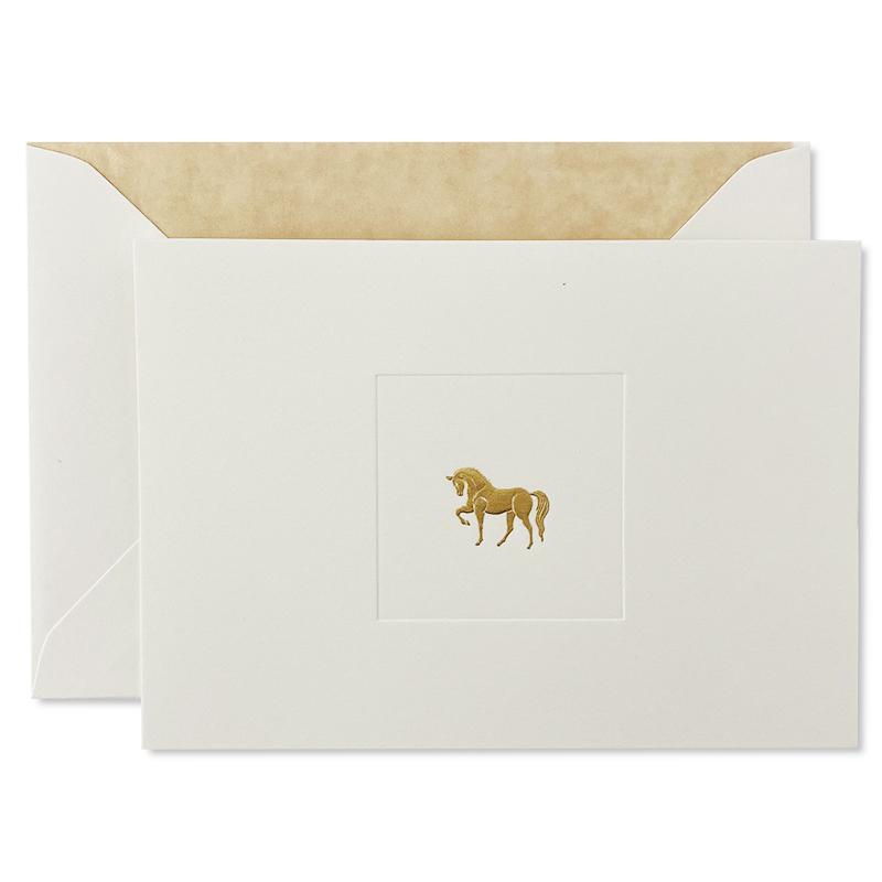 Mount Street Printers/ボックスカード/Horse Correspondence Cards