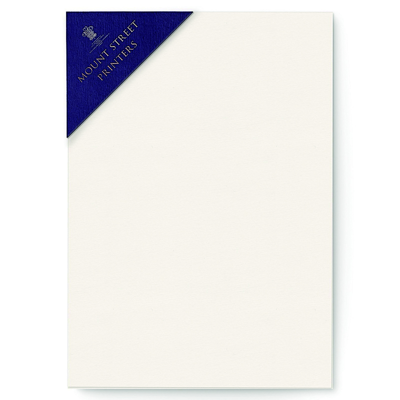 Mount Street Printers/便箋/A5 Writing Sheets Sets- Oyster