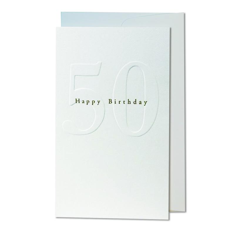 オブレイション/シングルカード/50th Birthday